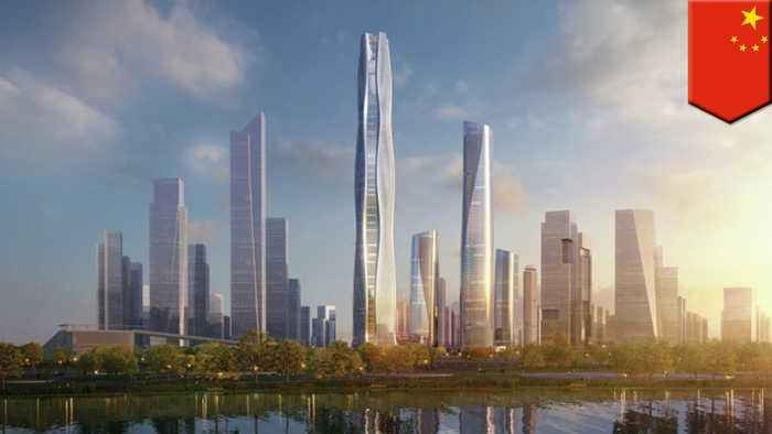 Eco-friendly supertall skyscraper planned for China