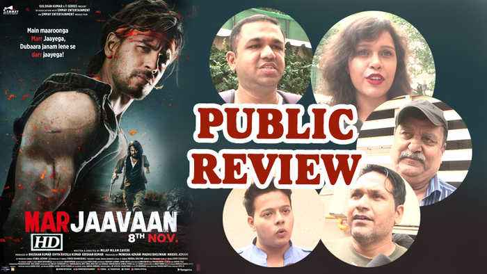 Public Review | Marjaavan | Sidharth Malhotra, RiteishDeshmukh's revenge saga