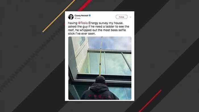 Elon Musk Shares Viral Image Of 'Most Boss Selfie Stick'