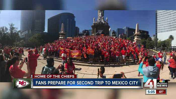 Chiefs fans hoping for better luck in Mexico City this year