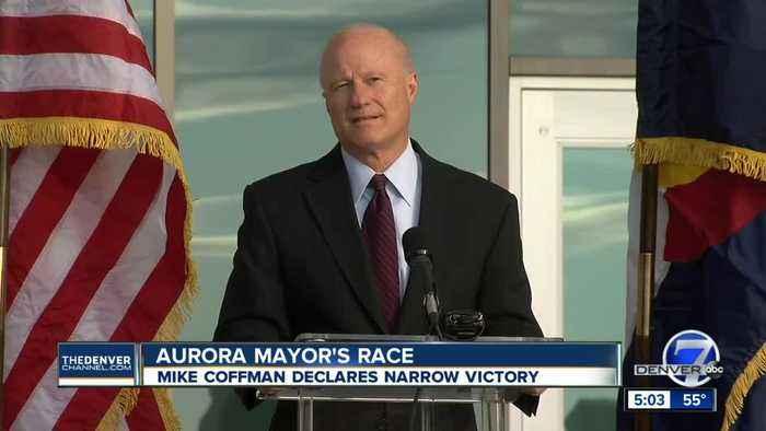 Mike Coffman declares victory in Aurora mayor's race