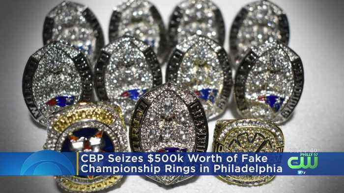 $500,000 Worth Of Counterfeit Championship Rings Confiscated In Philadelphia