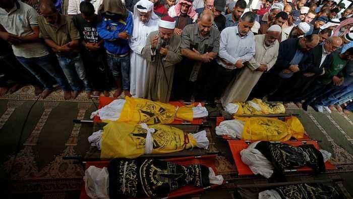 Gaza ceasefire under pressure after renewed Israeli air attacks