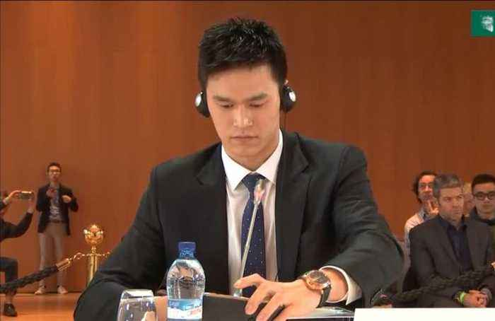 Chinese swimmer Sun Yang's 2020 Olympic hopes on the line at CAS court hearing