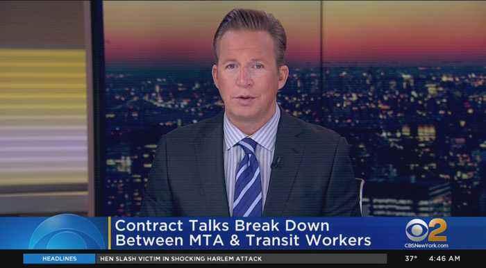 MTA-TWU Contract Talks Break Down