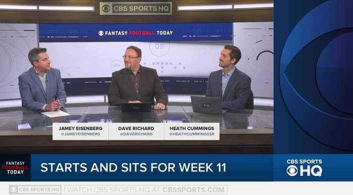Fantasy Football Today Start & Sit Week 11