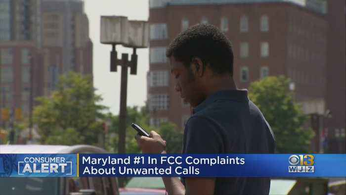 Maryland Ranked No. 1 For FCC Complaints About Robocalls