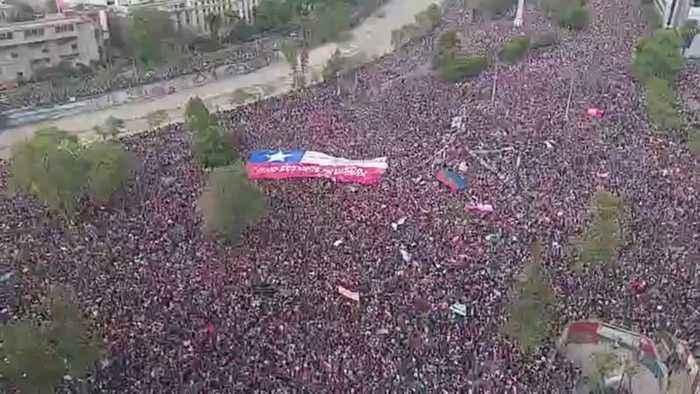 Massive March on Chile