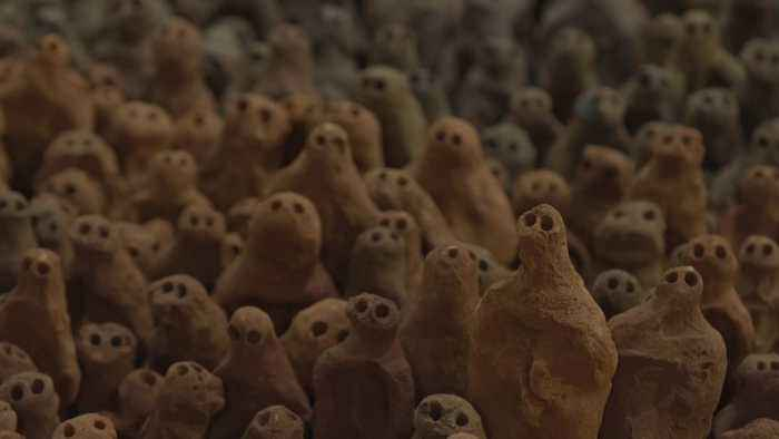 Antony Gormley's 40,000 tiny terracotta figures are back on display