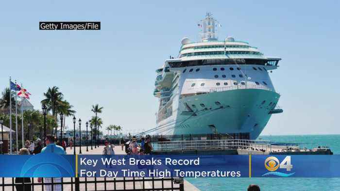 Key West Breaks Record For Day Time High Temps