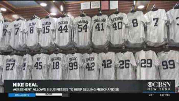 Agreement Allows Small Businesses To Keep Selling Yankees Merchandise