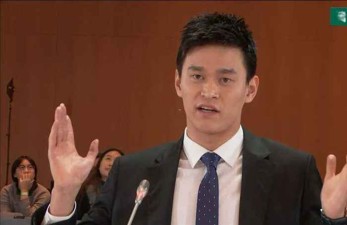 Sun Yang calls for video evidence to be shown in hearing