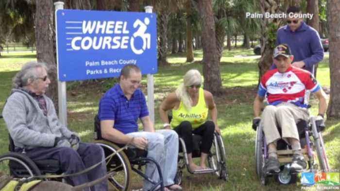 Palm Beach County wheelchair course gets overhaul