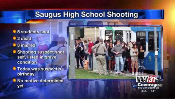 School Shooting In Santa Clarita, CA A BLOCK