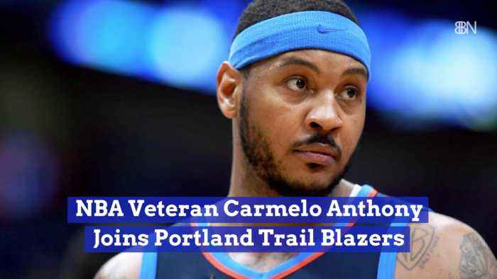 Carmelo Anthony Goes To Portland Trail Blazers
