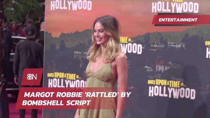 Margot Robbie After Reading 'Bombshell'