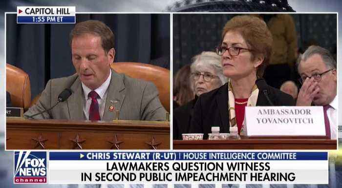 Rep. Stewart's Instant Takedown Of Yovanovitch Shows Democrats Have 'No Case'