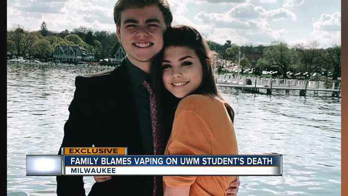 Family blames 'vaping' on UWM student's death