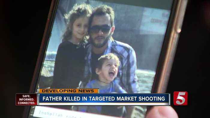 Father killed in market shooting hits hard for Kurdish community