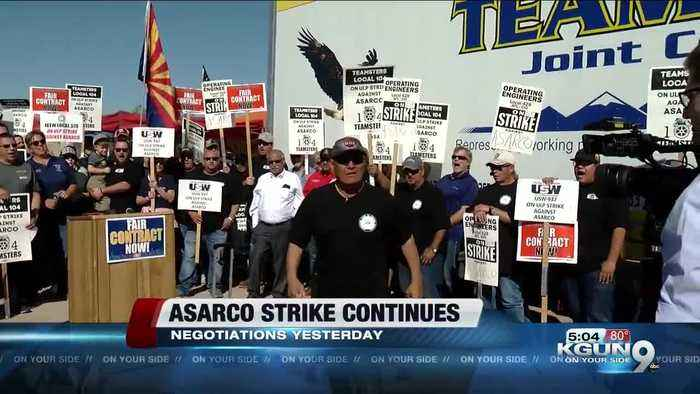 Teamsters: No progress in ASARCO strike after Thursday negotiations