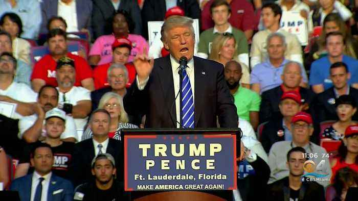 Trump To Hold Rally At BB&T Center In Late November