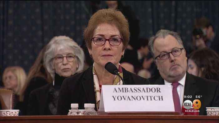 Marie Yovanovitch Testifies During 2nd Day Of Public Impeachment Hearings