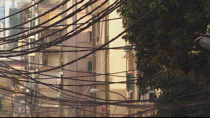 Lebanon protests over lack of electricity