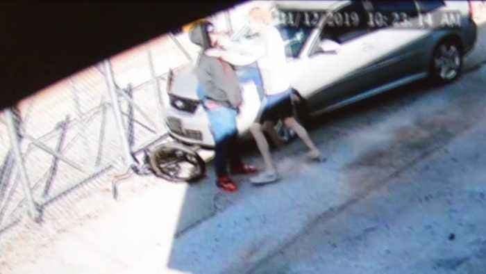 Video Shows Bicyclist Hit by Car, Attacked After Suspected Drug Deal