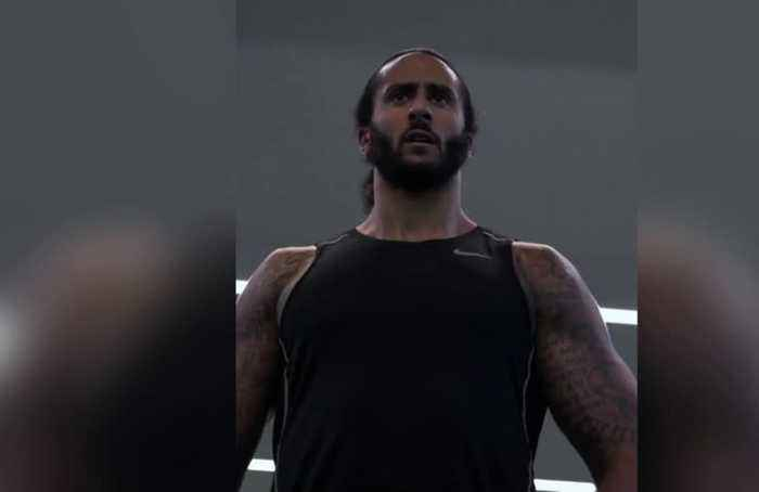 Colin Kaepernick gets pumped for NFL tryout
