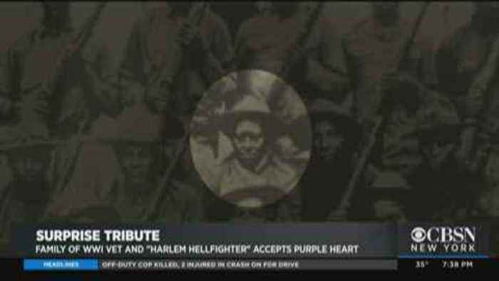Surprise Honor For Family Of 'Harlem Hellfighter'