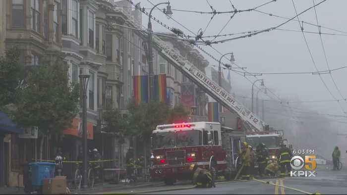 4-Alarm Fire Rips Through Apartment Building In San Francisco's Castro District