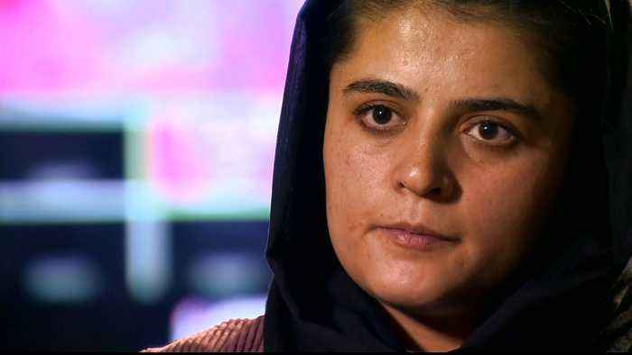 Najwa Alimi talks about being a female journalist in Afghanistan