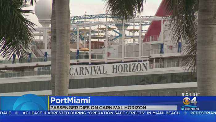 Death Investigation On A Carnival Cruise Ship