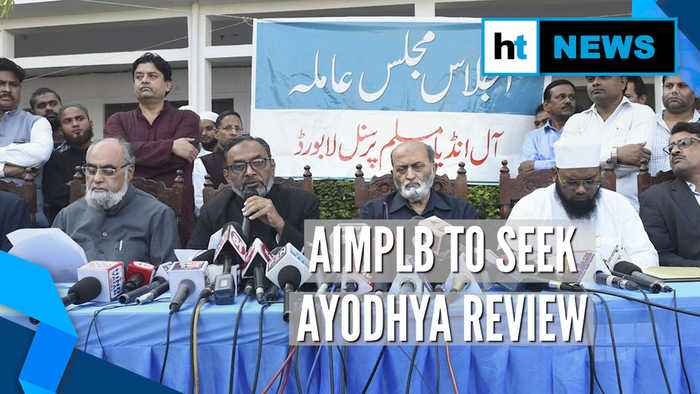 Ayodhya verdict: AIMPLB to move SC for review; VHP says 'decision final'