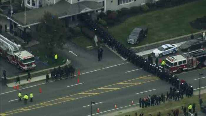 Web Extra: Hundreds Of Firefighters Attend Wake For Lt. Jason Menard