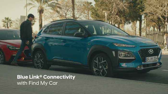 The new Hyundai KONA Hybrid Trailer