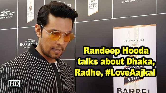 Actor Randeep Hooda talks about Dhaka, Radhe, #LoveAajkal