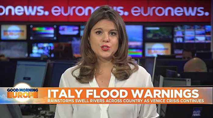 Italian flood warnings spread beyond Venice, as rivers rise in Pisa, Florence