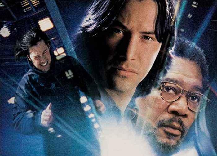 Chain Reaction movie (1996)  Keanu Reeves, Morgan Freeman, Rachel Weisz
