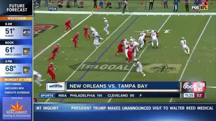 Jameis Winston throws 4 interceptions as New Orleans Saints easily beat Tampa Bay Buccaneers