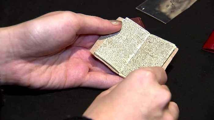 Miniature Bronte manuscript returns to author's childhood home
