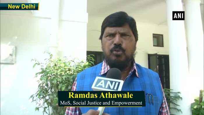 Amit Shah assures of BJP Shiv Sena coming together Ramdas Athawale