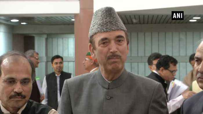 Farooq Abdullah, Chidambaram should be allowed to attend winter session GN Azad