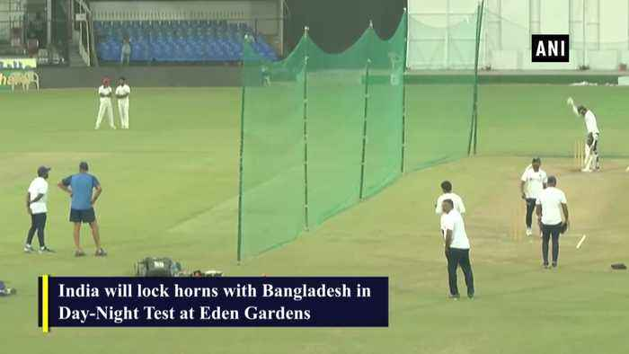 India, Bangladesh practice with pink ball ahead of Day Night Test