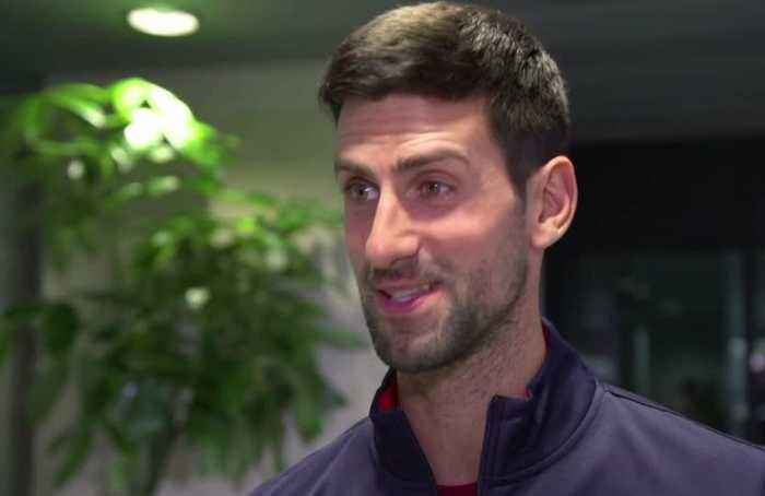 Djokovic excited to be with Serbian teammates, looking forward to new Davis Cup
