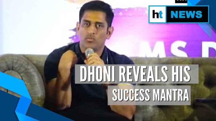 MS Dhoni reveals his success mantra while batting at number 6 for India