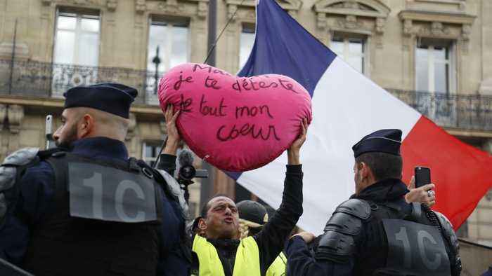 France protests: One year on 'yellow vest' movement loses steam