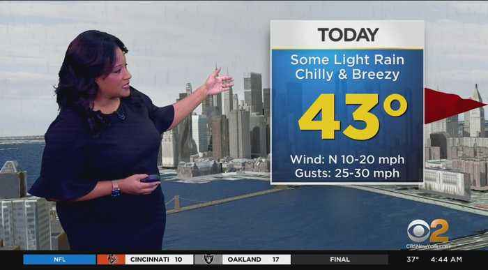 New York Weather: Chilly And Damp