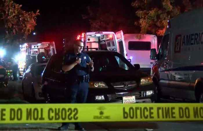 Four killed in shooting at California football party