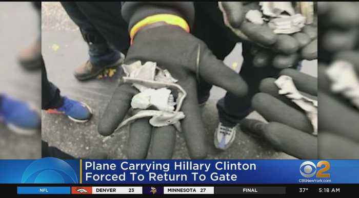 Plane Carrying Hillary Clinton Experiences Mechanical Issue